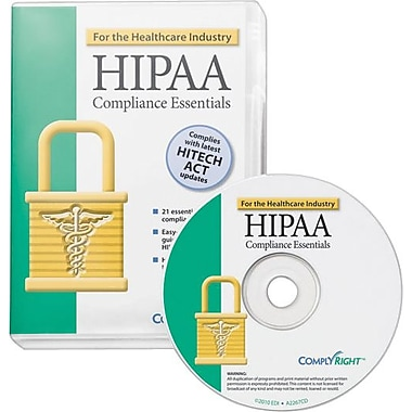 ComplyRight HIPAA Compliance Essentials  CD-ROM