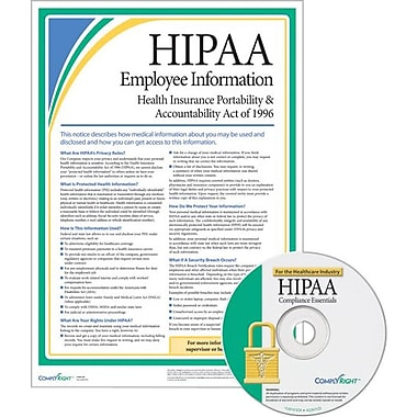 ComplyRight HIPAA Compliance  Healthcare, 50/Pack