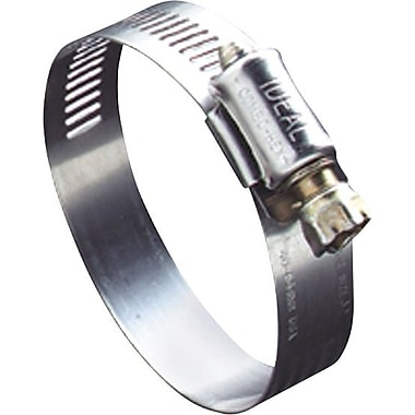 Hy-Gear® 201/301 Stainless Steel 50 Small Diameter Hose Clamp, 1/2 - 1 1/4 in Capacity