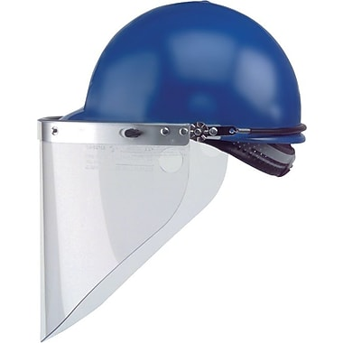HIGH PERFORMANCE® Silver Aluminum Peak Mounted Face Shield Bracket