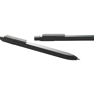 Moleskine Plastic Click Roller Pen, Black, Black Ink, Medium 0.7MM