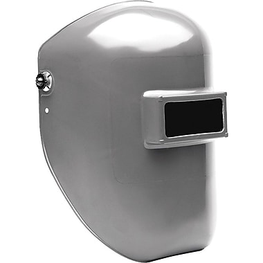 Fibre-Metal Tigerhood® Classic Gray Thermoplastic Welding Helmet, 2 in (W) x 4 1/4 in (L) Window, #10 Lens