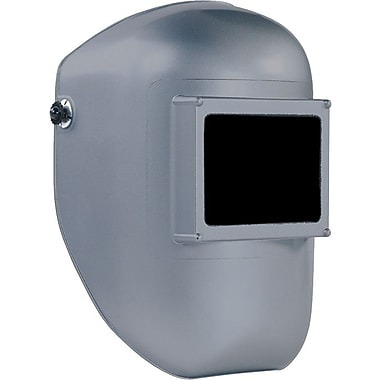 Fibre-Metal Tigerhood® Classic Thermoplastic Welding Helmet, 4 1/2 in (W) x 5 1/4 in (L) Window, #10 Lens, Black