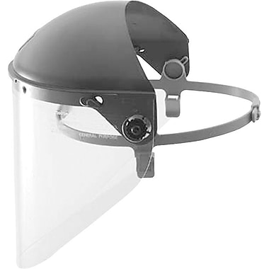 HIGH PERFORMANCE® Gray Plastic Headgear With Noryl® Crown Face Shield Headgear, 4 in Crown