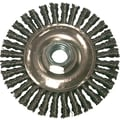 Anchor Brand® 6 in (Dia) 0.02 in Wire 5/8-11 Arbor Stringer Bead Wheel Brushes