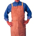 Anchor Brand® Golden Brown Leather Standard Bib Apron, 42 in (L), 24 in (W)