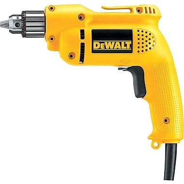DeWalt® Heavy Duty Variable Speed Reversing Drill Tool, 3/8 in Keyed Chuck, 120 V, 6 A
