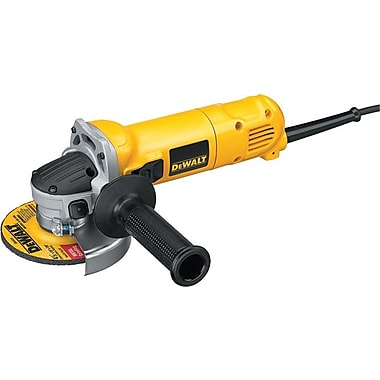 DeWalt® Small Angle Grinder, 1.1 hp, 11000 rpm, 4 1/2 in (Dia) Wheel
