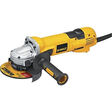 DeWalt® Small High Performance Angle Grinder With Slide Switch, 2.3 hp, 9000 rpm, 6 in (Dia) Wheel