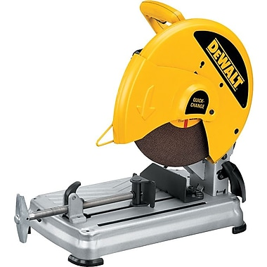 DeWalt® Heavy Duty Chop Saw, 14 in (Dia) Wheel, 4000 rpm No Load