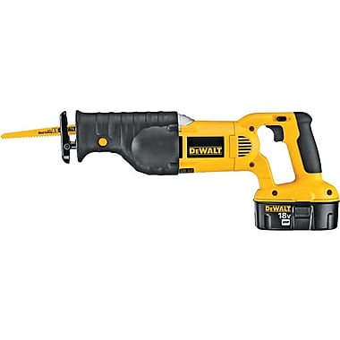 DeWalt® Cordless Heavy Duty Reciprocating Saw Kit, 1 1/8 in Stroke (L), 0 - 3000 spm