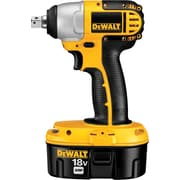 DeWalt® Heavy Duty, Cordless Impact Wrench Kit, Square 1/2 in Detent Pin Retentioning Drive
