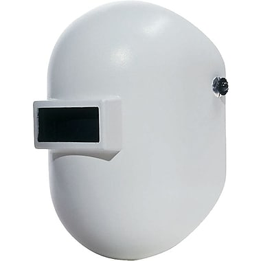 Fibre-Metal Pipeliner™ Superglas® White Fiberglass Welding Helmet, 2 in (W) x 4 1/4 in (L) Window, #10 Lens