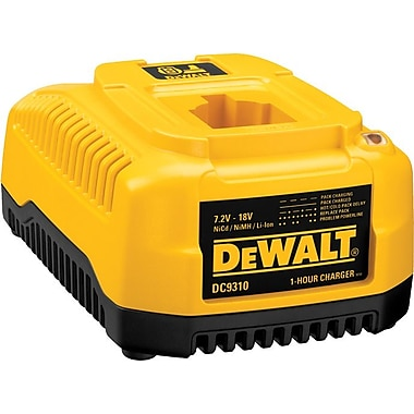 DeWalt® NiCd/NiMH/Li-Ion Heavy Duty Battery Charger, 7.2 - 18 V, 1 hr