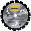 DeWalt® Carbide Cutting Edge Nail Cutting Portable Circular Saw Blade, 7 1/4 in (Dia), 5/8 in Arbor