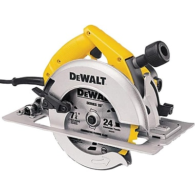 DeWalt® Carbide Cutting Edge Circular Saw, 7 1/4 in (Dia) Wheel, 5800 rpm No Load