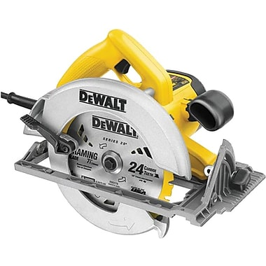 DeWalt® Carbide Cutting Edge Heavy Duty Circular Saw, 7 1/4 in (Dia) Wheel, 5800 rpm No Load