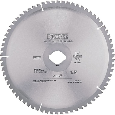 DeWalt® Carbide Cutting Edge Circular Saw Blade, 14 in (Dia), 1 in Arbor