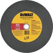 DeWalt® Type 1 Portable Cut-Off Wheel, 14 in (Dia), 1 in Arbor