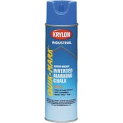 Industrial Quik-Mark™ 20 oz Aerosol Can Inverted Marking Chalk, Alkyd, APWA White
