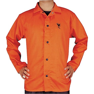 Anchor Brand® Orange 100% Cotton Premium Flame Retardant Jacket, 30 in (L), X-Large
