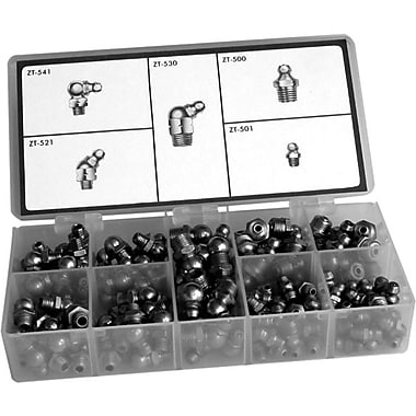 Masterkit Zinc Plated Grease Fitting Assortment