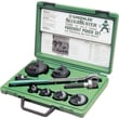 Slug-Buster® Manual Knockout Punch Kit, 0.89 - 1.7 in Hole