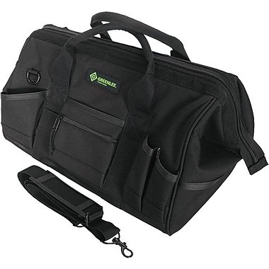 Greenlee® Nylon Heavy Duty Multi Pocket Tool Bag, 31 Compartments, 11 in (H)