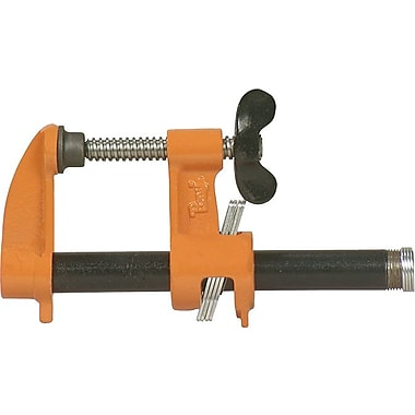 Pony® Malleable Or Ductile Iron Pipe Clamp, 3/4 in Nominal Opening, 2 1/2 in Throat (D)