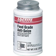 Loctite® Smooth White Paste Food Grade Anti-Seize Lubricant, 8 oz Brush Top Can