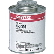 Loctite® N-5000™ Gray Paste High Purity Anti-Seize Lubricant, 1 lb Brush Top Can