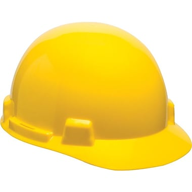 SmoothDome® Polyethylene Standard Slotted Hard Cap, White, Staz-On® Suspension