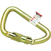 Miller® Zinc Dichromate Plated Forged Alloy Steel Auto Twist-Lock Carabiner, 400 lb