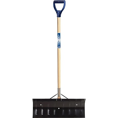 True Temper® Tempered Steel Snow Pusher, 24 in (W), 10 in (L)
