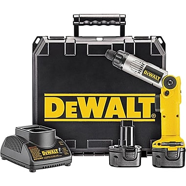 DeWalt® Cordless Two-Position Screwdriver Kit, 80 in-lb Torque