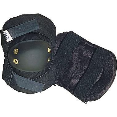 AltaFLEX® Black Nylon Cover Rubber Cap Dual Elastic Velcro Strap Industrial Elbow Pad