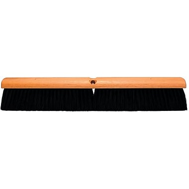 Magnolia M-60 Hardwood Handle Black Plastic Bristle No. 20 Line Floor Brush