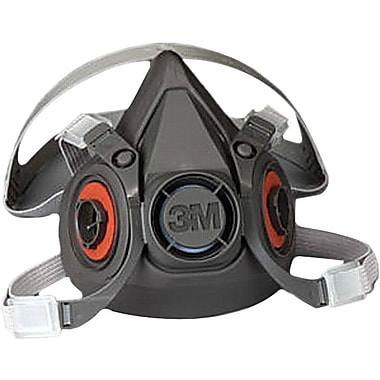 3M™ Thermoplastic Elastomer (TPE) Large 4 Point Bayonet Adjustable Strap Reusable Respirator