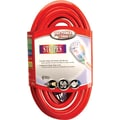 Stripes® SJTW Extension Cord, 12/3 AWG, 50 ft (L)