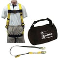 SafeWaze™ Aerial Lift Fall Arrest Kit, Includes 10810 Harness, 208512 Lanyard, 4512A Bag