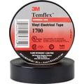 3M Temflex™ Black PVC Backing Electrical Tape, 3/4 in (W), 60 ft (L), 7 mil (T)