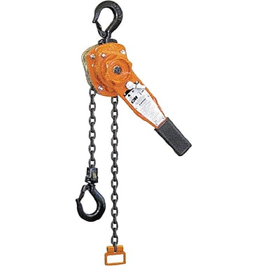 CM® Powder Coated Steel Series 653 Chain Lever Hoist, 1 1/2 ton Working Load