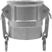 Dixon™ A380 Aluminum Global Type D Grease Coupler, 4 in Female Coupler x 4 in FNPT, 100 psi