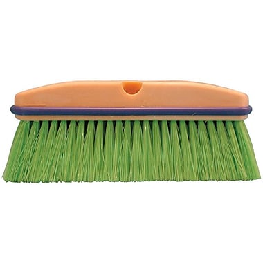 Magnolia Foam Plastic Handle Green Flagged Nylon Bristle Vehicle Wash Brush
