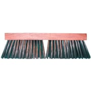 "Magnolia Brush 455-3916 16"" Carbon Steel Wire Bristle Floor Brush"