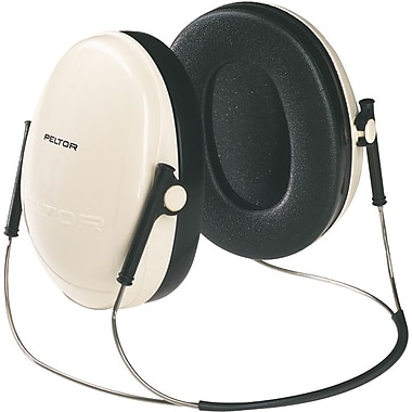 Peltor® Optime 95 Behind The Head Earmuff, Beige, 19 dB