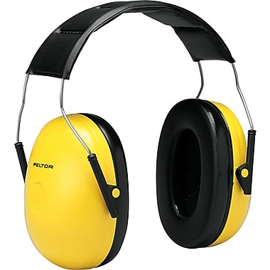 Peltor® Optime 98 Over The Head Standard Earmuff, Yellow, 25 dB
