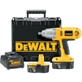 DeWalt® Cordless Impact Wrench Kit, Square 1/2 in Drive