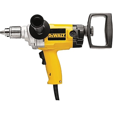 DeWalt® Heavy Duty Variable Speed Reversing Spade Handle Drill, 1/2 in Keyed Chuck, 120 V, 9 A