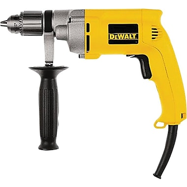 DeWalt® Heavy Duty Variable Speed Reversing Drill Tool, 1/2 in Keyed Chuck, 120 V, 7.8 A